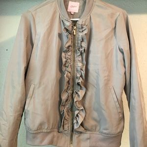 Candies camel color zip jacket